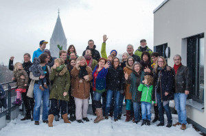 Gruppe Dachterasse 2015